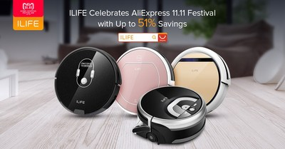 Don't Lose This Golden Oppotunity! ILIFE's Best Deals Start Now to Celebrate AliExpress 11.11 Global