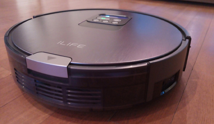 ILIFE V80: the new smart vacuum cleaner robot with space measurement