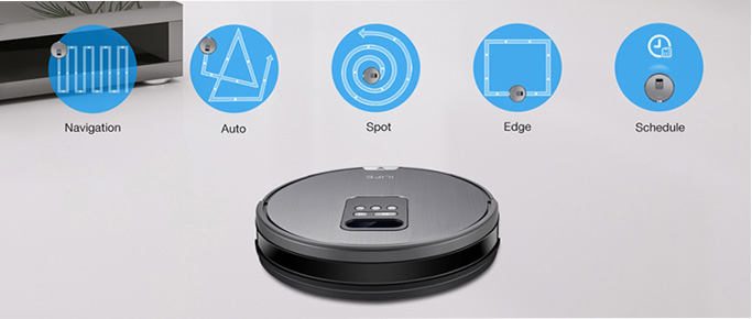 ILIFE V8: the new smart vacuum cleaner robot with space measurement