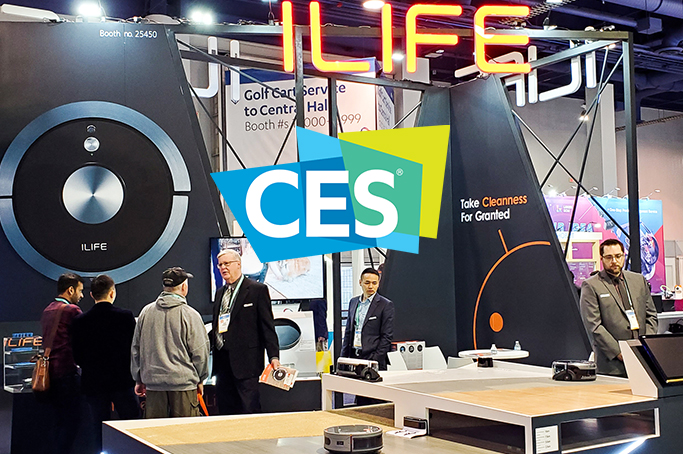 ILIFE announces 3 new robotic vacuums at CES