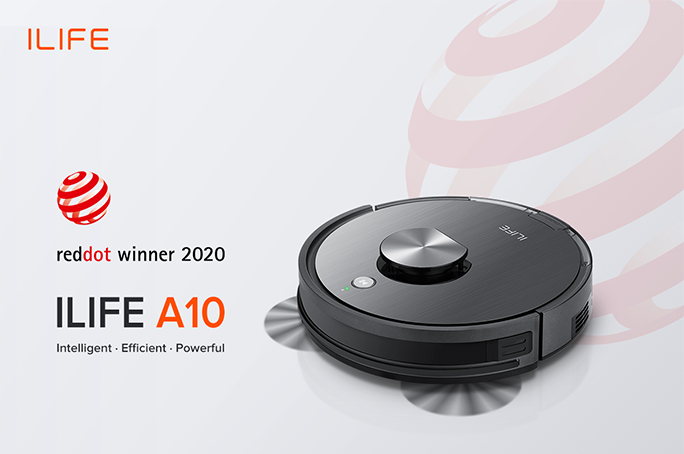 ILIFE A10 Wins the Red Dot Award Product Design 2020